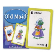 Old Maid Flash Card Matching Game Braille