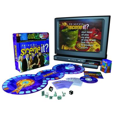 Scene It. Deluxe Friends Edition DVD Game