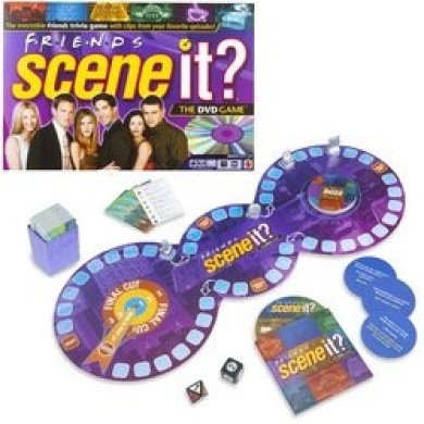 Scene It. Friends Edition DVD Board Game
