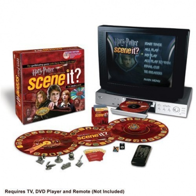 Scene It. Deluxe Harry Potter Edition