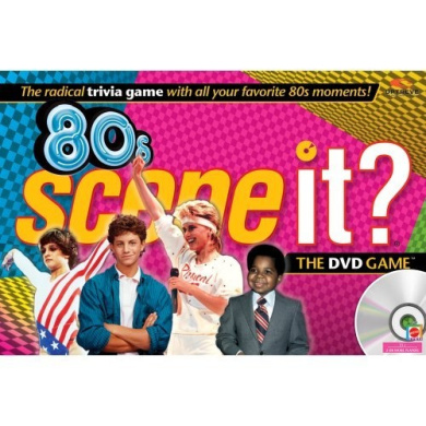 80's Scene It Game With DVD Radical Trivia Questions
