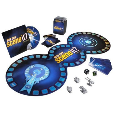 Star Trek Scene It. DVD Game with Real TV and Movie Clips
