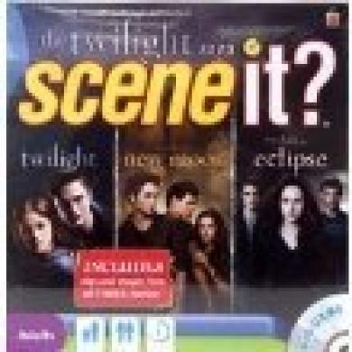 Scene It The Twilight Saga DVD Game