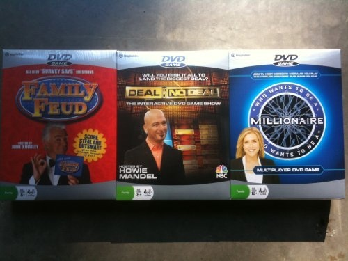 Imagination Dvd Game 3 Pack - Family Feud - Deal Or No Deal