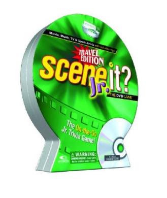 Scene It. JR Travel DVD Game