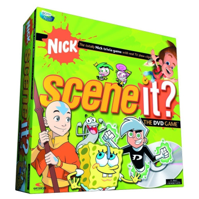Scene It. Nickelodeon Edition DVD Game