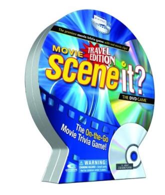Scene It. Movie Travel DVD Game