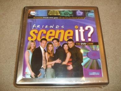 Friends Scene It. The DVD Game - Tin