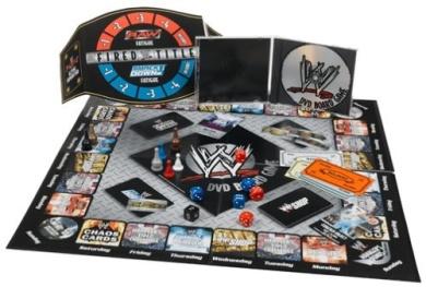 WWE DVD Board Game