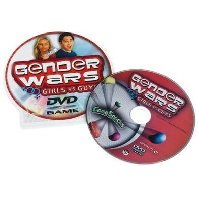 Game Snacks - Gender Wars DVD Game