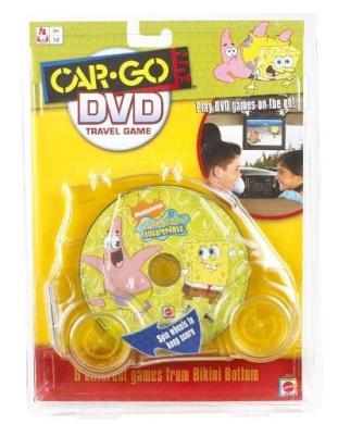 Car-Go Fun: Spongebob Squarepants DVD Travel Game