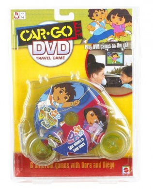 Car-Go Fun: Go Diego Go! And Dora DVD Travel Game