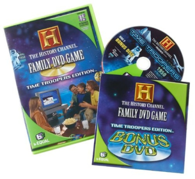 The History Channel Family DVD Game: Time Troopers Edition