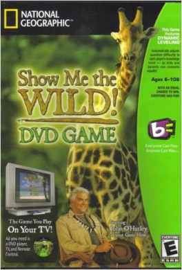 Show Me the Wild! DVD Game with John O'Hurley