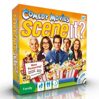 Scene It. Comedy Movies Game by Screenlife