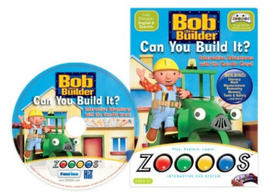 Bob the Builder DVD for Zoooos
