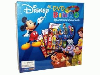 Disney DVD Bingo - Spanish Version