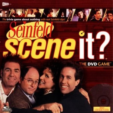 Seinfeld Scene It. Dvd Game in Collectible Tin