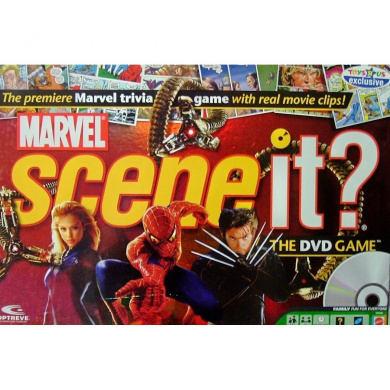 Marvel Scene It. The DVD Game