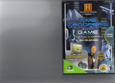 The History Channel Presents Time Troopers DVD Game