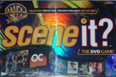 SCENE IT - WB Warner Bros 50th Anniversary DVD Game with Real Clips on the Trivia