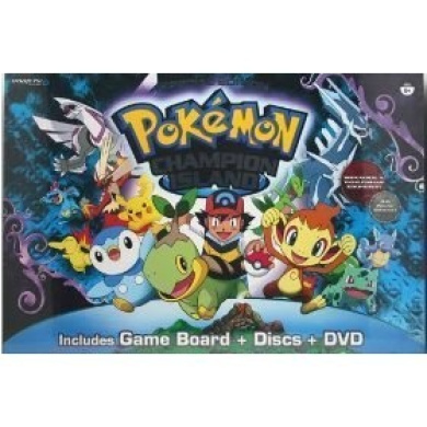 Special Edition Champion Island DVD Board Game