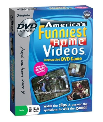 Imagination America's Funniest Home Videos DVD Game