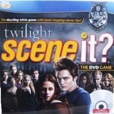 Scene it. twilight The DVD Game