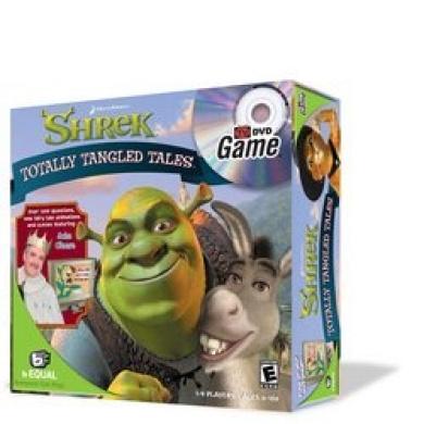 Shrek: Totally Tangled Tales DVD Game