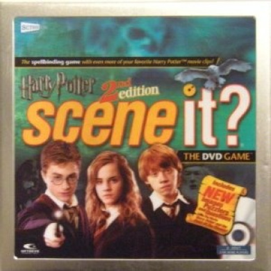 Harry Potter 2nd Edition Scene It. The DVD Game