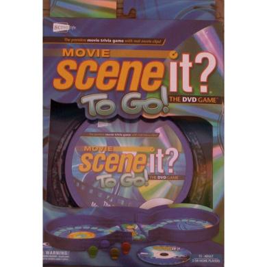 Movie Scene It. To Go! DVD Travel Game