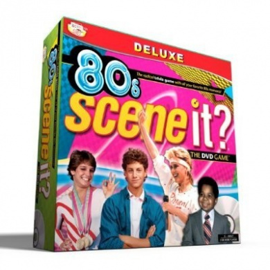80's Edition Scene It DVD Game