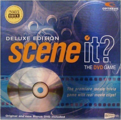 Deluxe Edition Scene It. The DVD Game