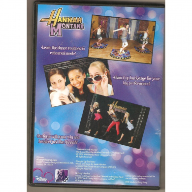 Hannah Montana Dance Along DVD