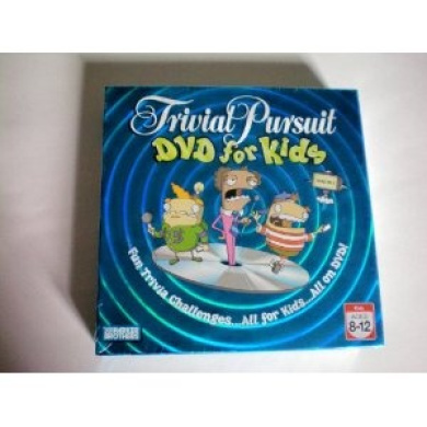 Trivial Pursuit DVD for Kids -- Fun Trivia Challenges...All for Kids...All on DVD!