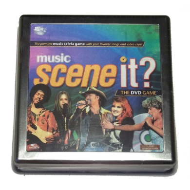 Music Scene It. The DVD Game