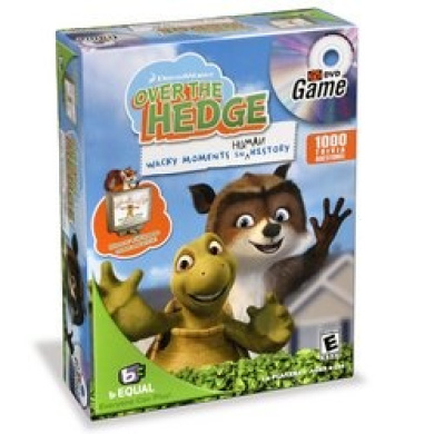 Over The Hedge DVD Game