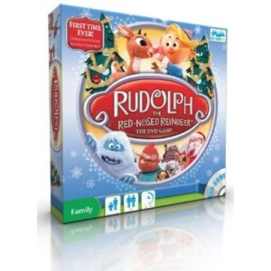 Rudolph The Red Nosed Reindeer DVD Board Game