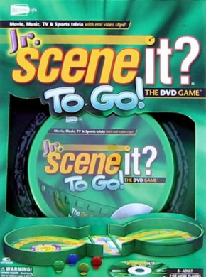 Jr. Scene It. To Go-The DVD Game