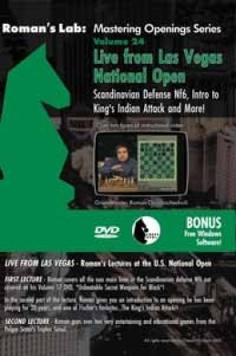 Mastering Chess on DVD, Vol. 24: Scandinavian Defence 2...Nf6
