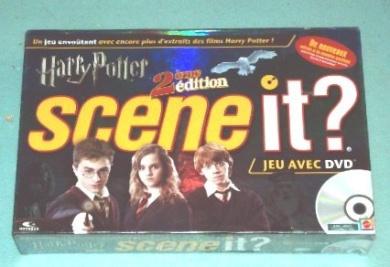 Harry Potter Scene It. 2nd Edition DVD Game, French Version (2e'me edition Jeu Avec DVD)