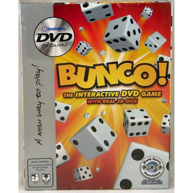 BUNCO The Interactive DVD Game with Real 3D Dice