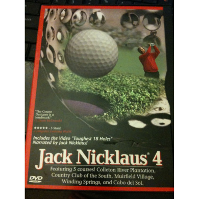 Jack Nicklaus 4 Golf
