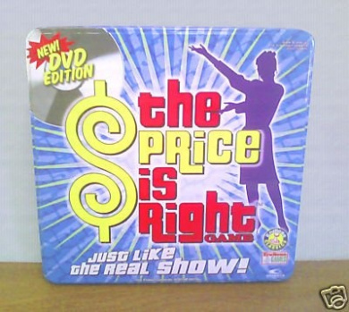 The Price is Right Collector's Edition DVD Game: (In Collectible Game Tin)