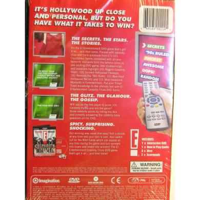 E! Celebrity Trivia - The Interactive Dvd Game