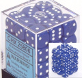 Blue Opaque Dice 12mm D6 Dice