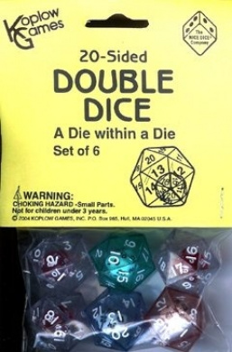 KOPLOW GAMES INC. KOP12622 20 SIDED DOUBLE DICE