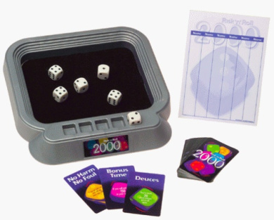 Risk and Roll 2000; the Dice Game of the Millennium
