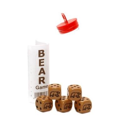 Light Brown Bear Dice Game