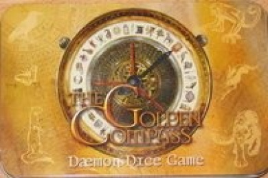 The Golden Compass- Daemon Dice Game